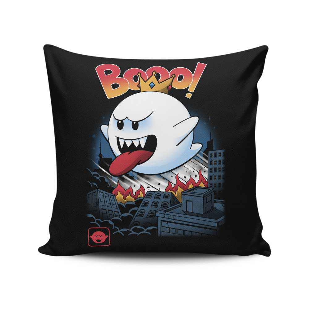 King Ghost Kaiju - Throw Pillow