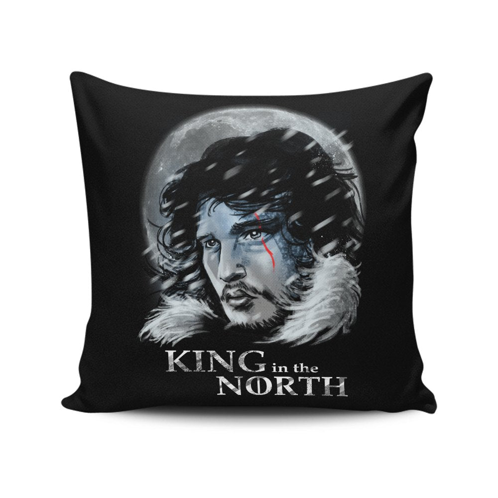 King in the North - Throw Pillow