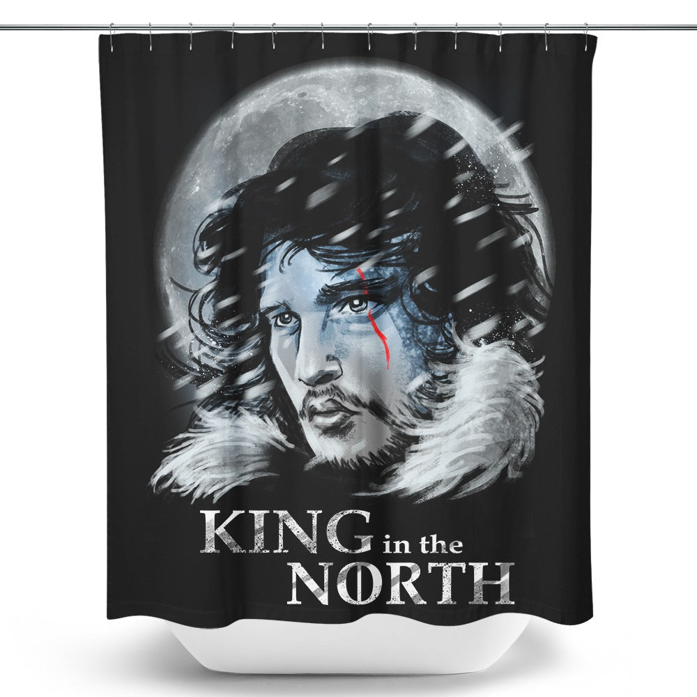 King in the North - Shower Curtain