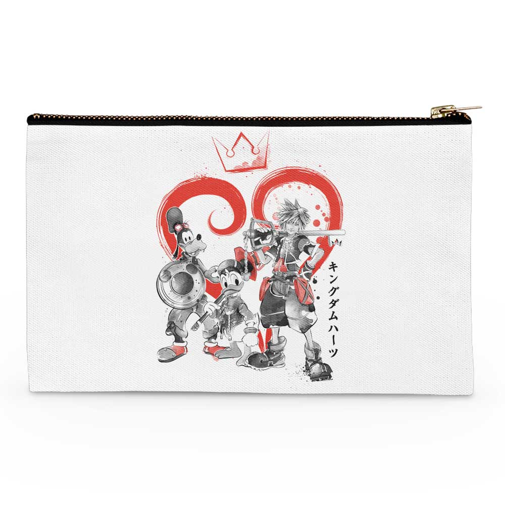 Kingdom Sumi-e - Accessory Pouch