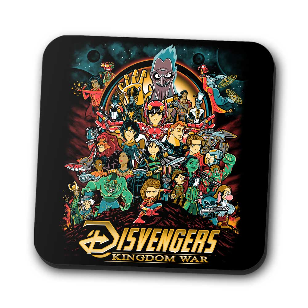 Kingdom War - Coasters
