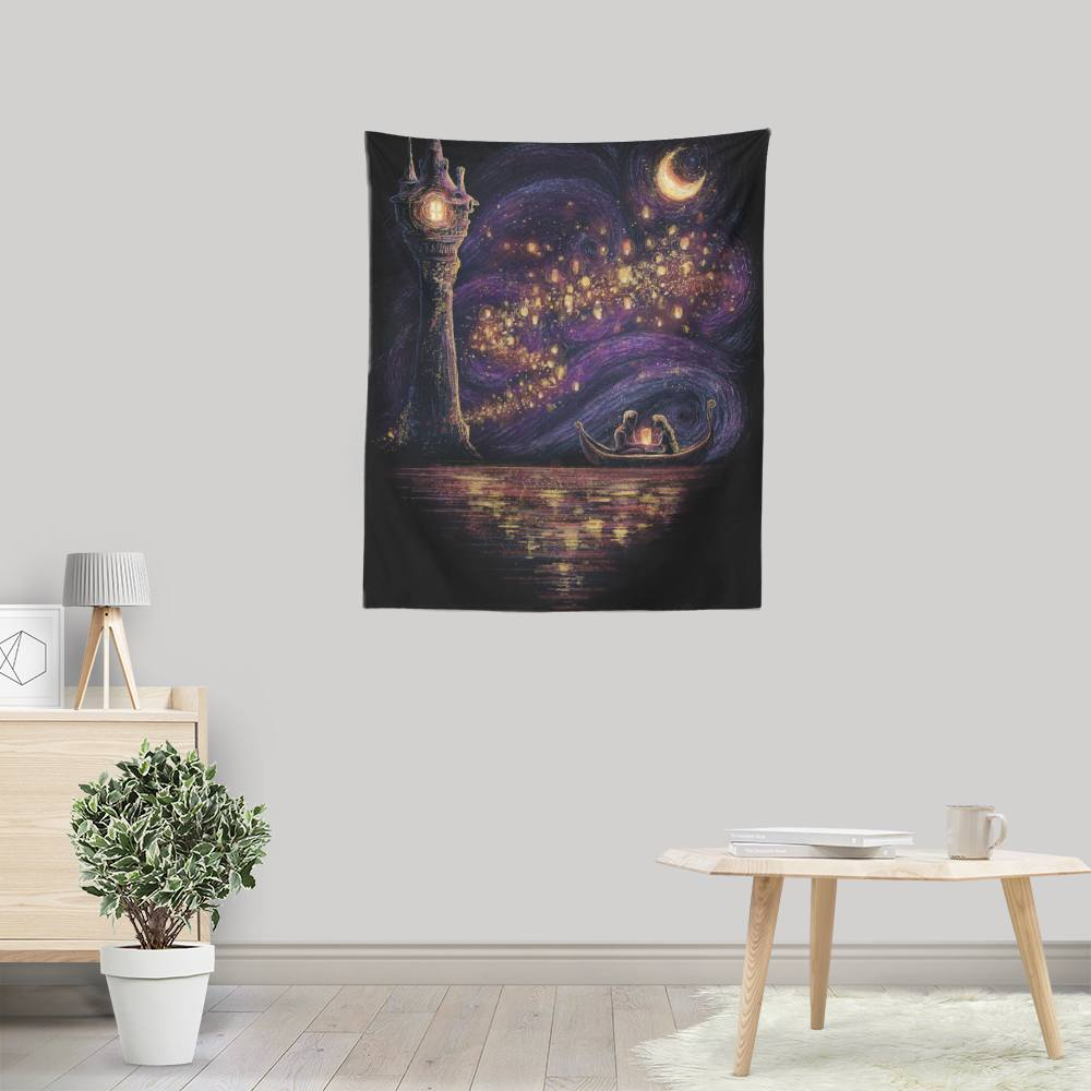 Lanterns of Hope - Wall Tapestry