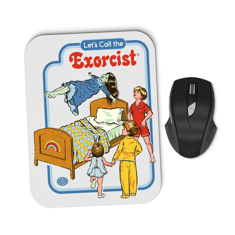 Let's Call the Exorcist - Mousepad