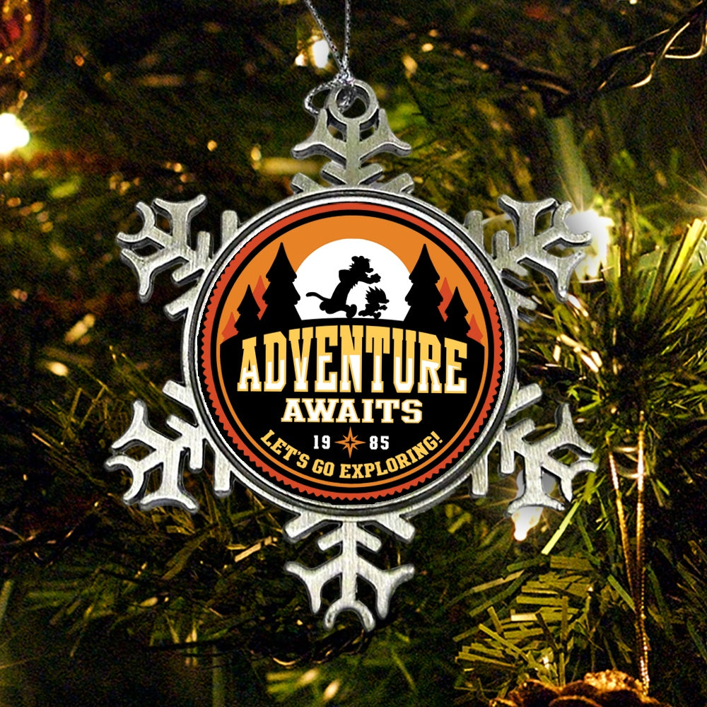 Let's Go Exploring - Ornament
