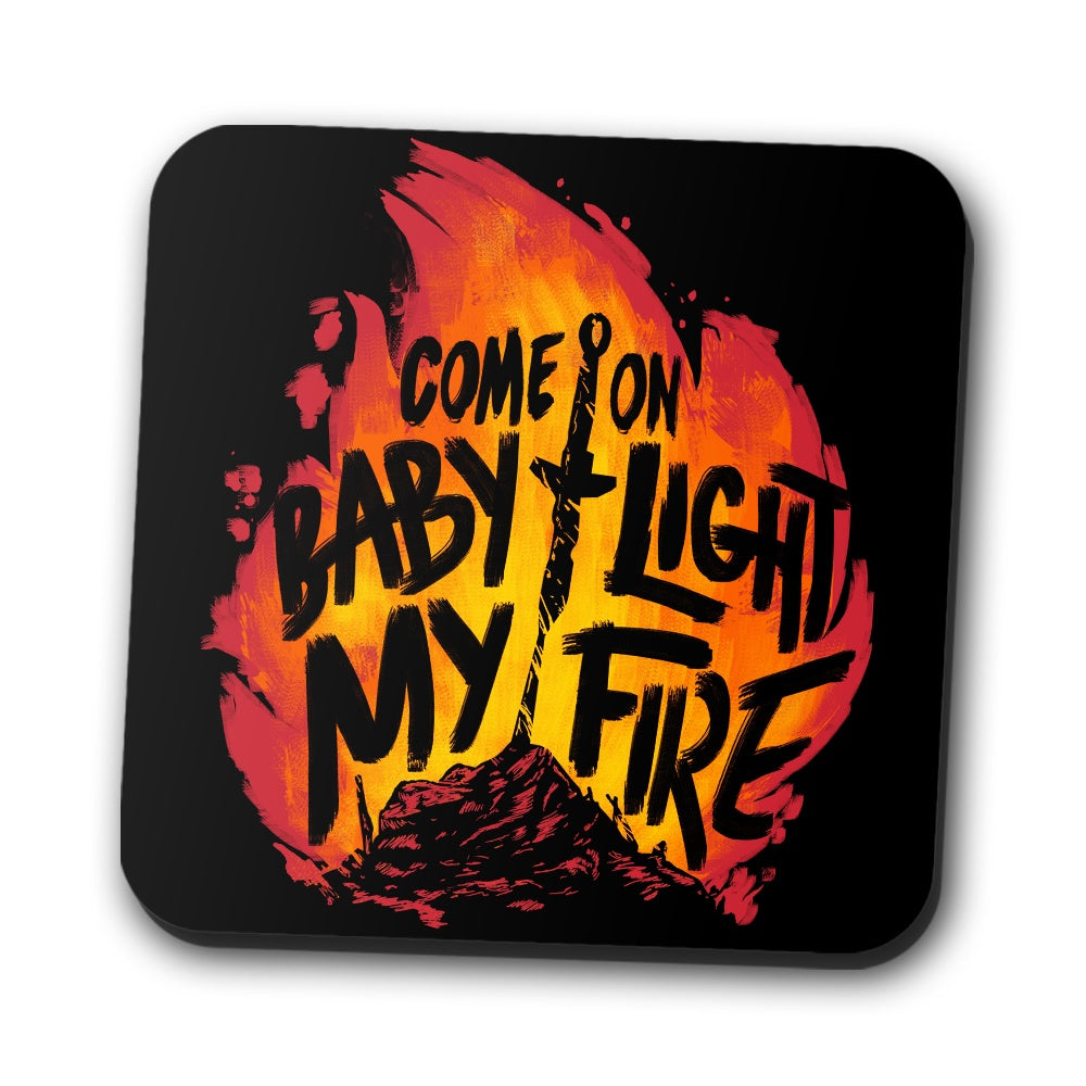Light My Fire - Coasters