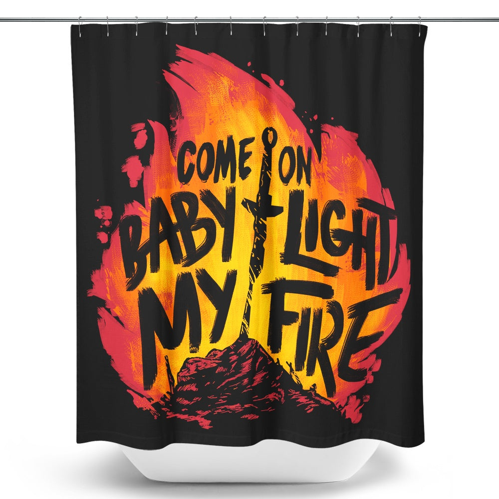 Merveilleux Light My Fire   Shower Curtain