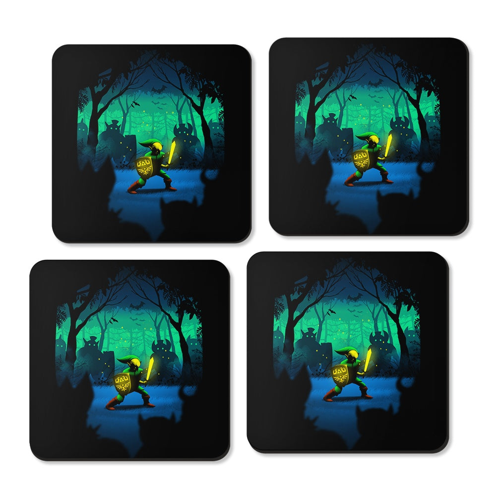 Light of Courage - Coasters