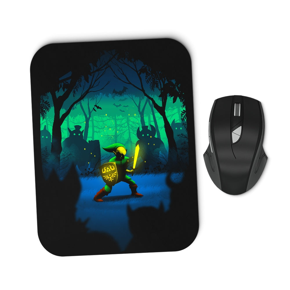 Light of Courage - Mousepad
