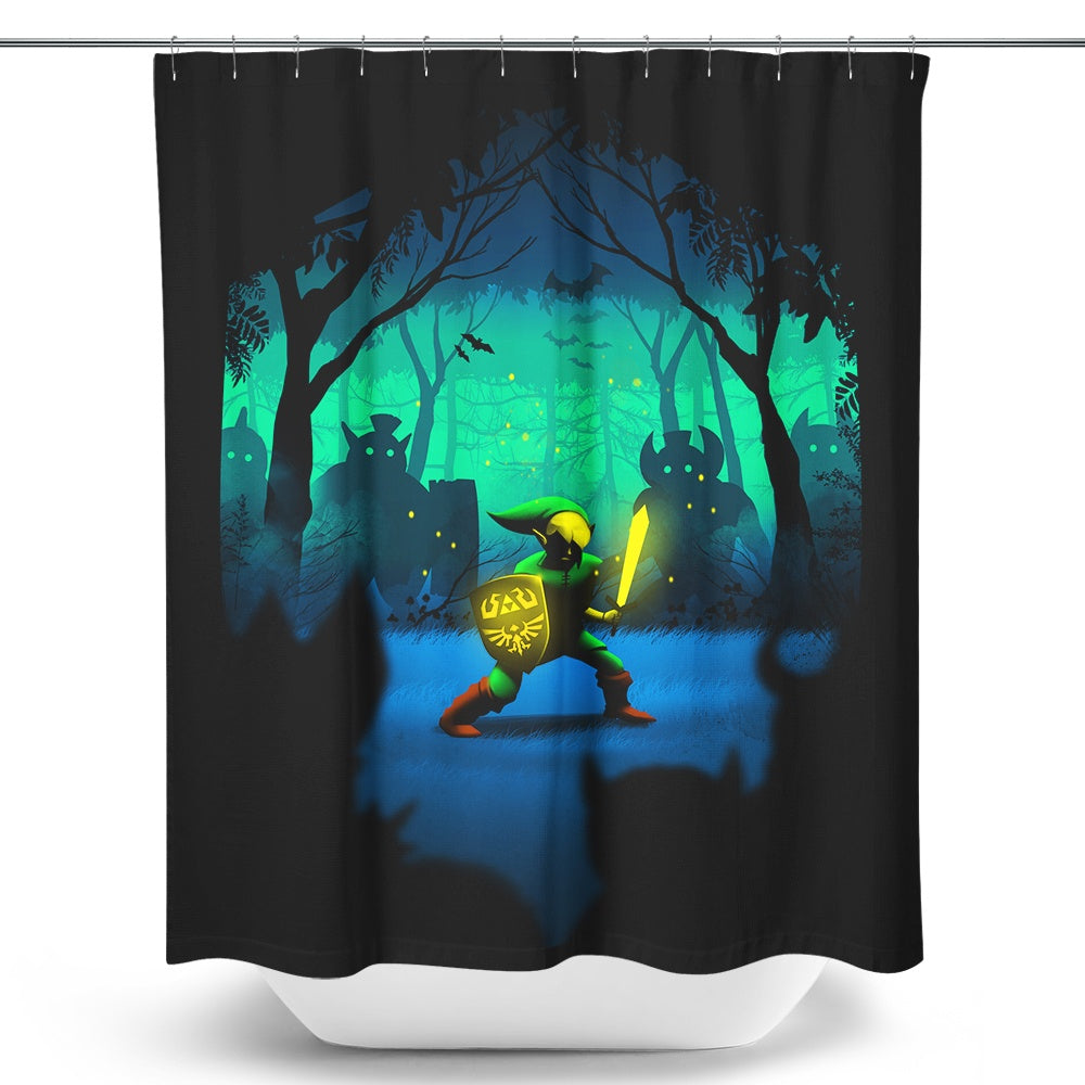 Light of Courage - Shower Curtain