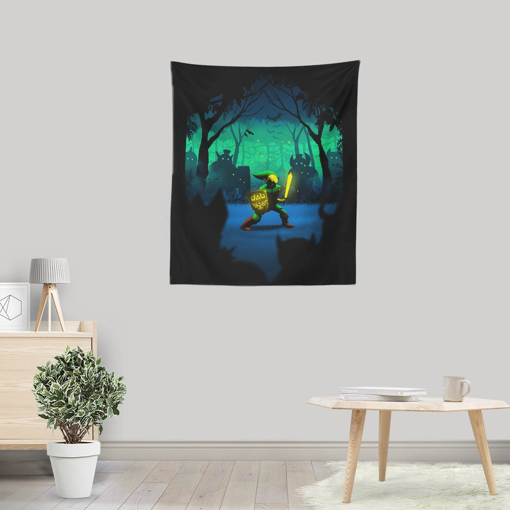 Light of Courage - Wall Tapestry