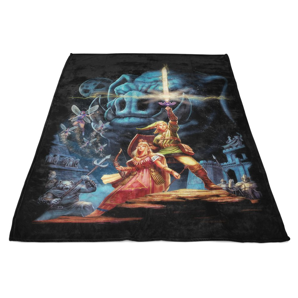 Link Wars - Fleece Blanket