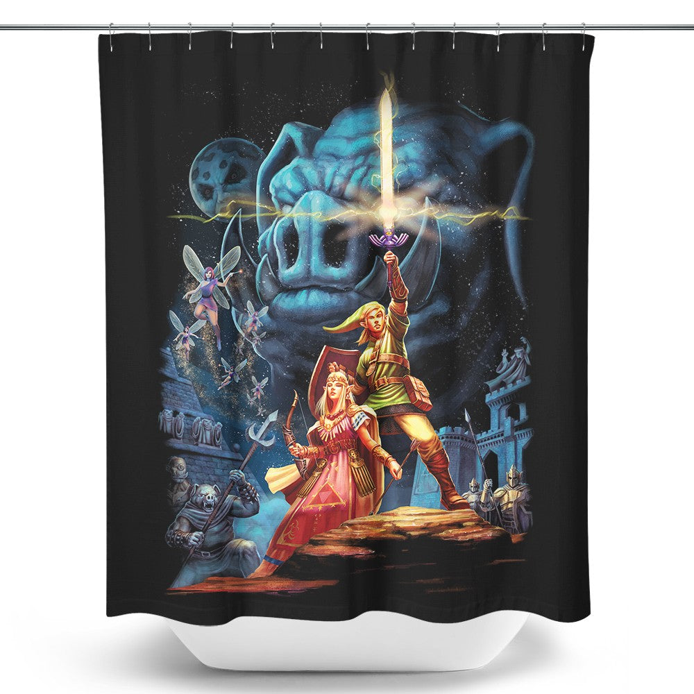 Link Wars - Shower Curtain