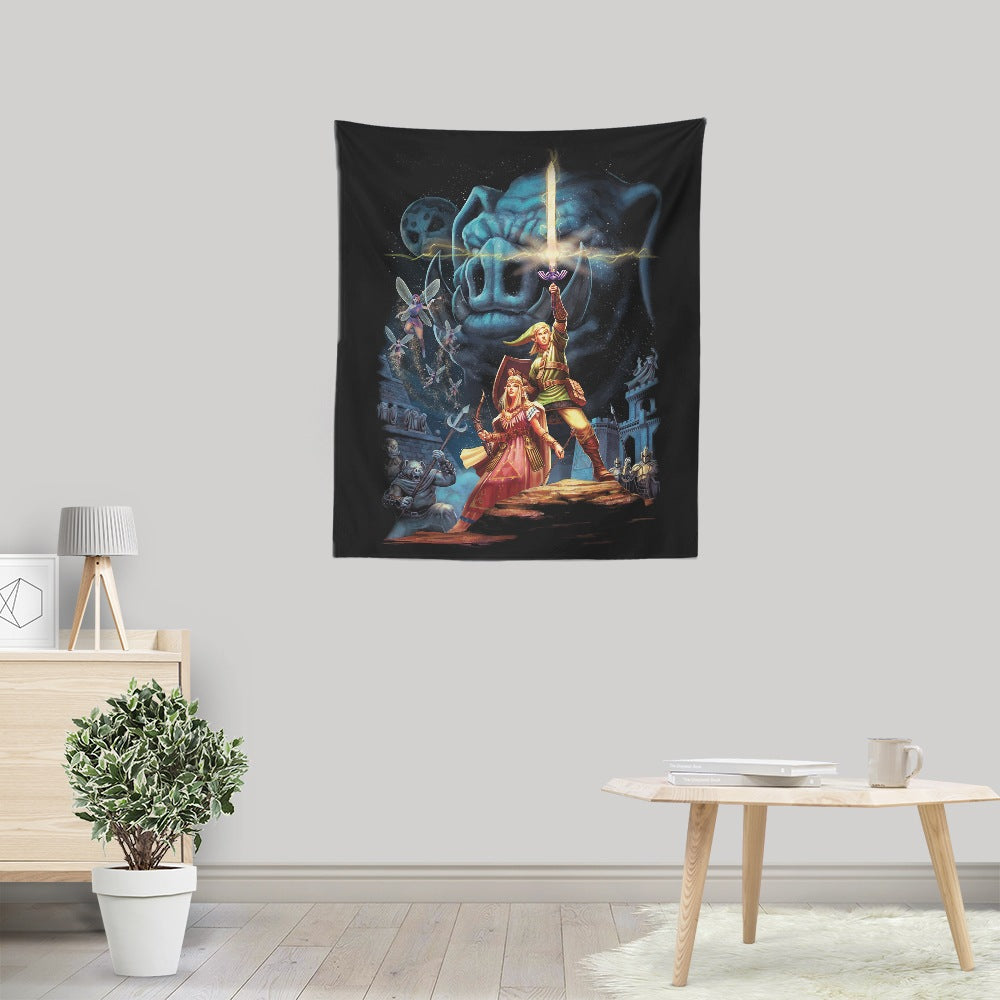 Link Wars - Wall Tapestry