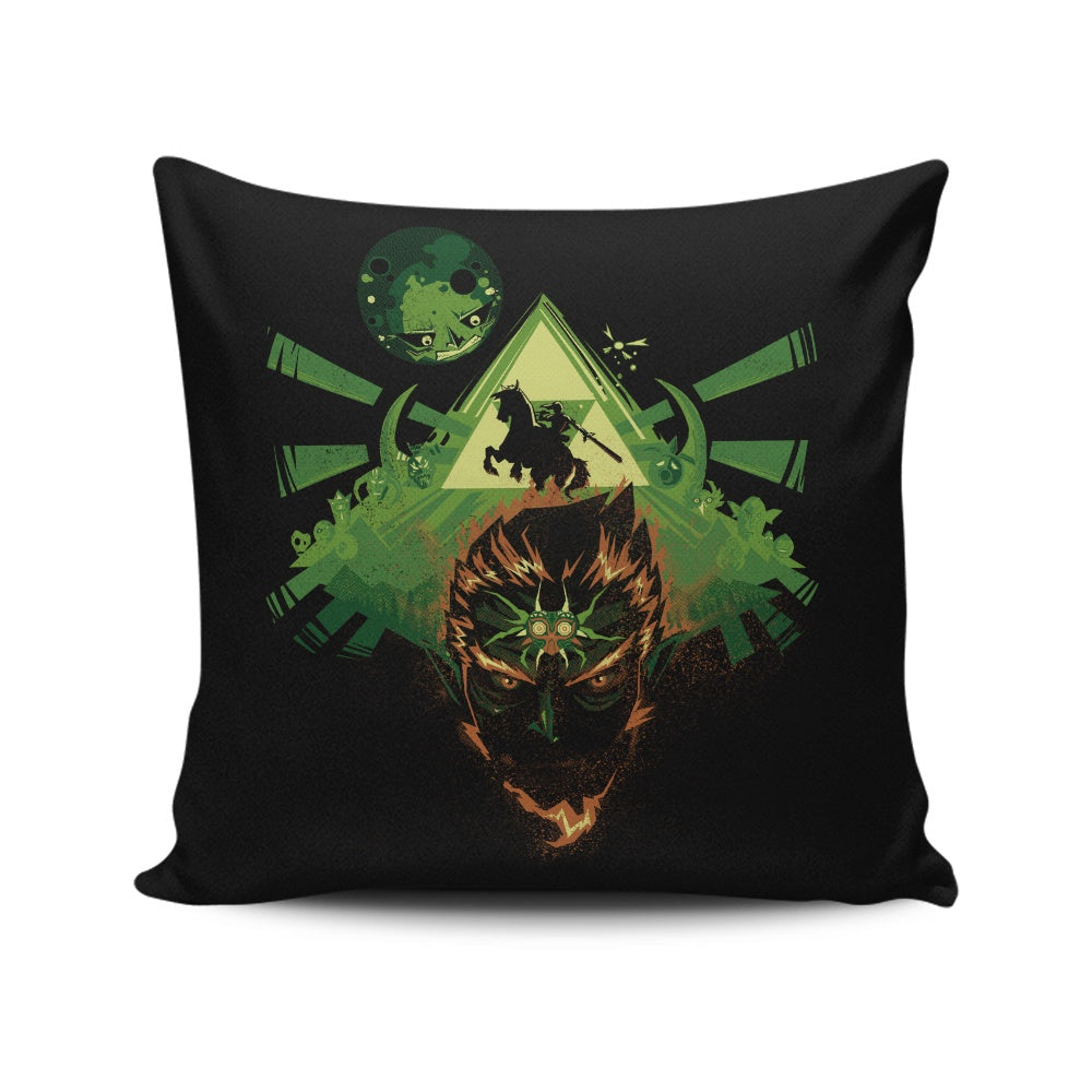 Link's Nightmare - Throw Pillow
