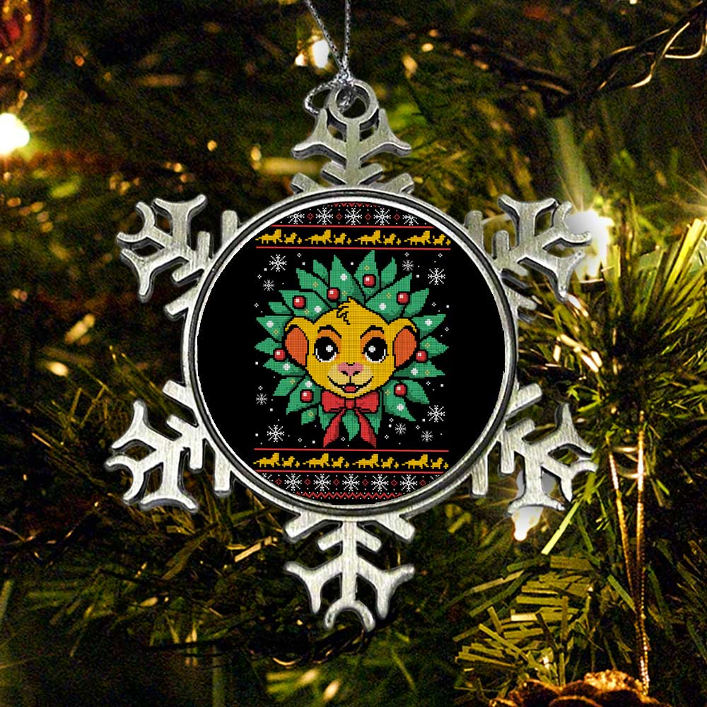 Lion Christmas - Ornament