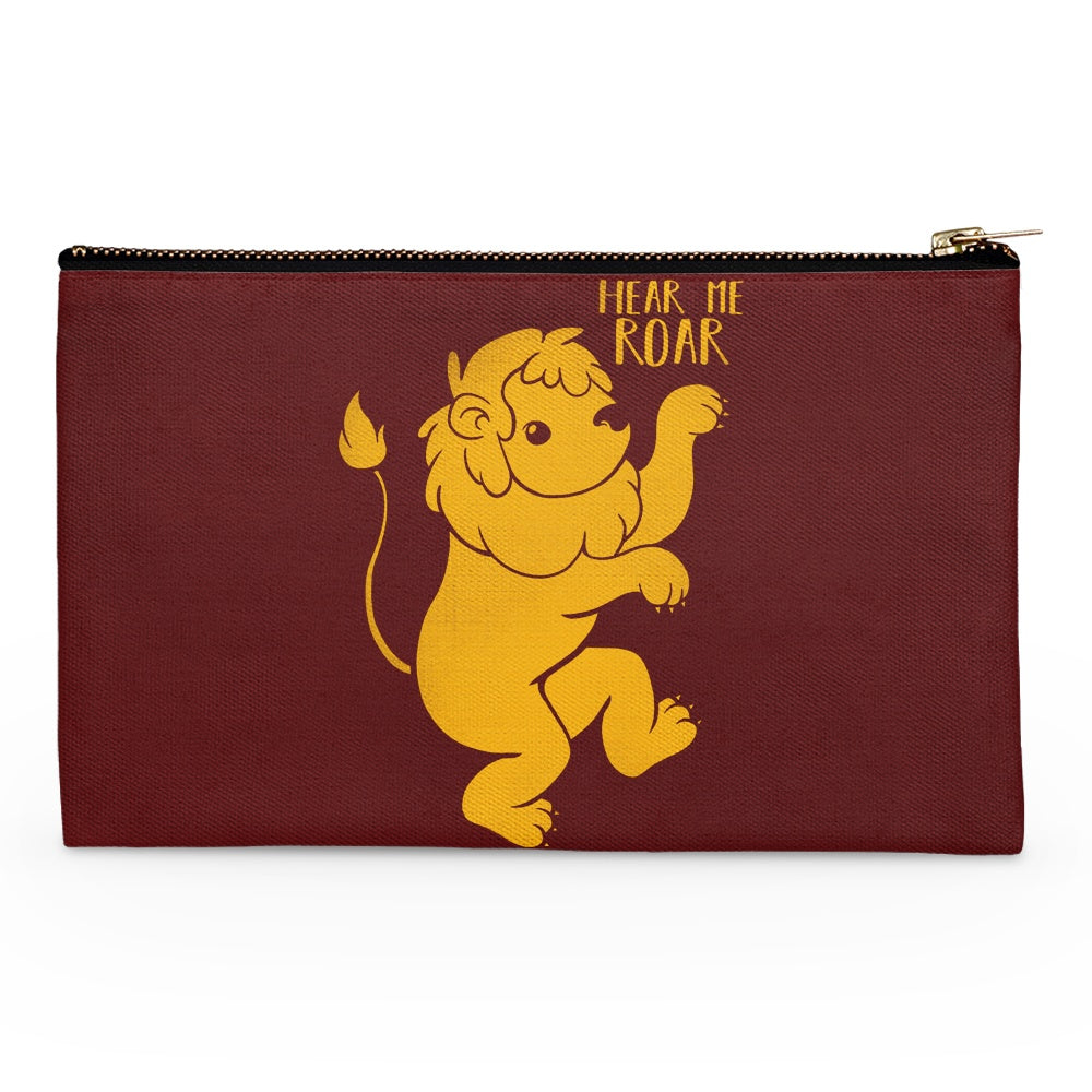 Lion Kawaii - Accessory Pouch