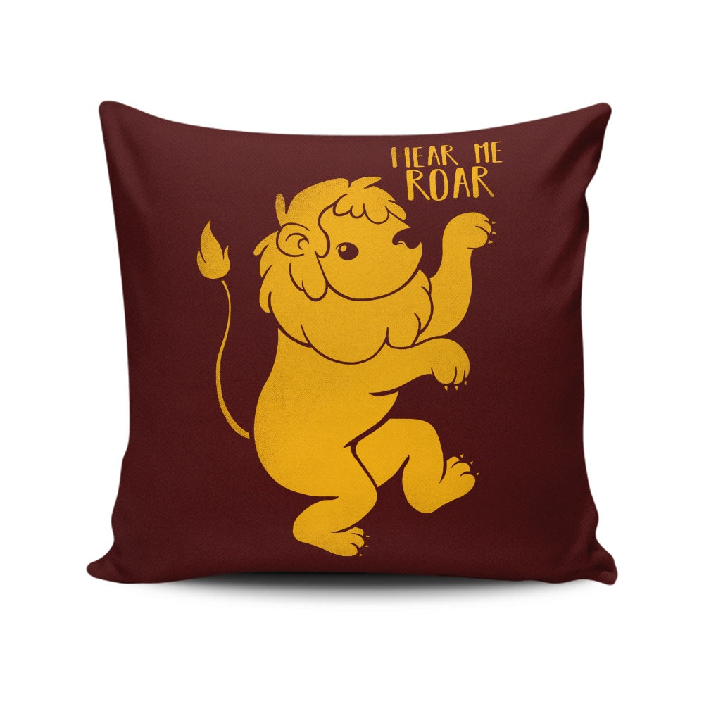 Lion Kawaii - Throw Pillow