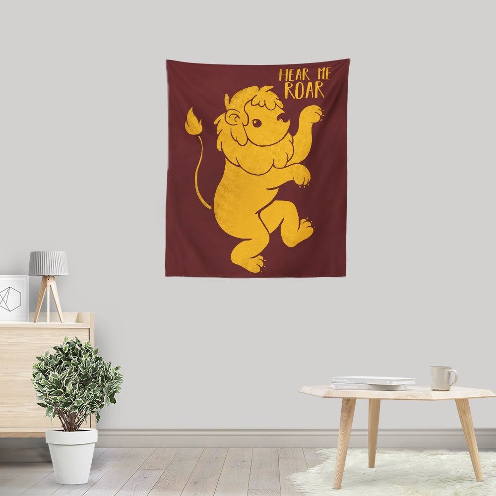 Lion Kawaii - Wall Tapestry