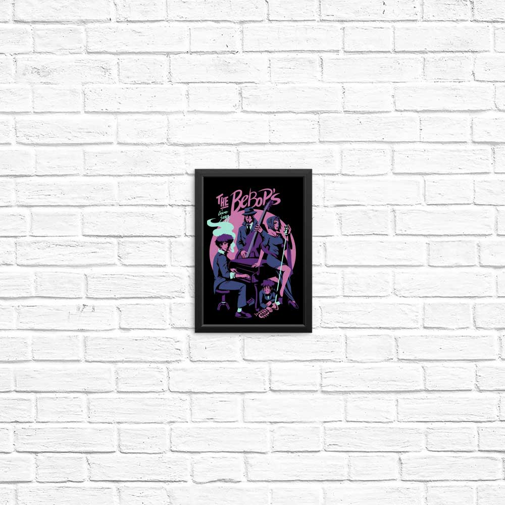 Live Jazz with the Bebops - Posters & Prints