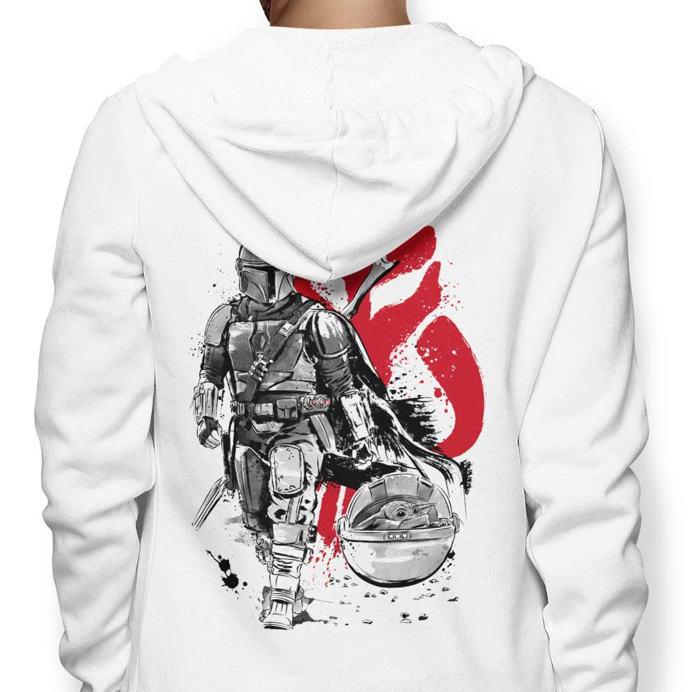 Lone Hunter and Cup - Hoodie