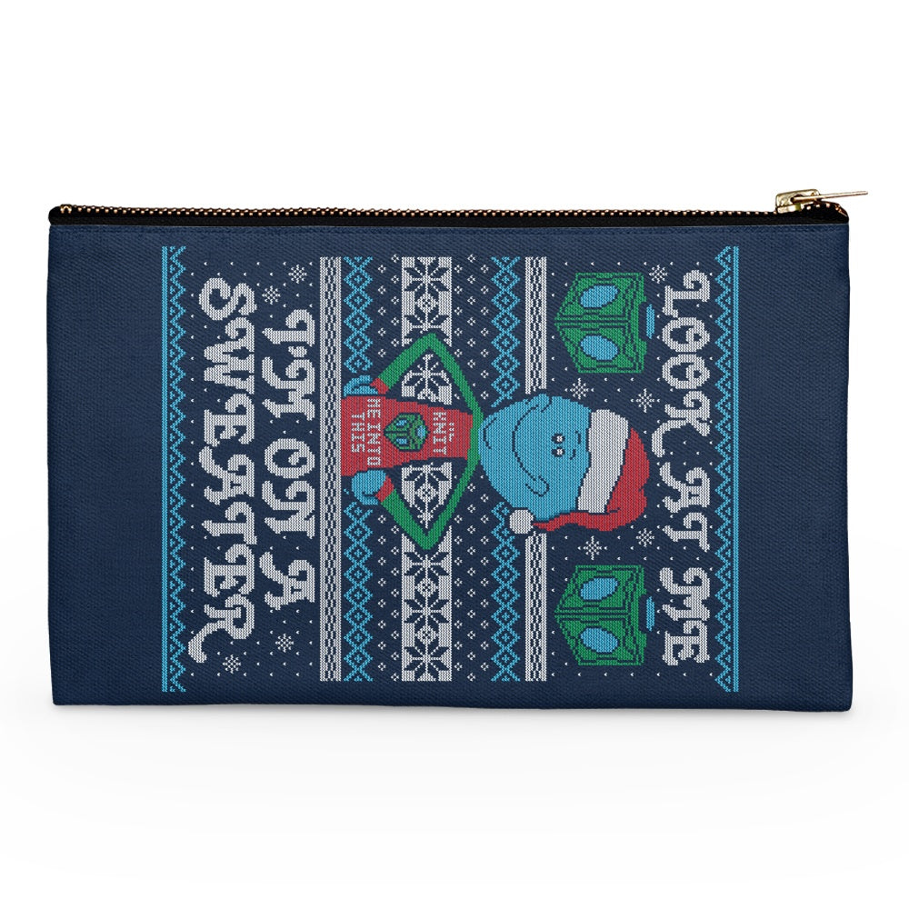 Look at Me Sweater - Accessory Pouch