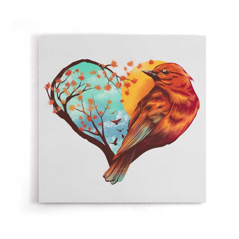 Love Bird - Canvas Print