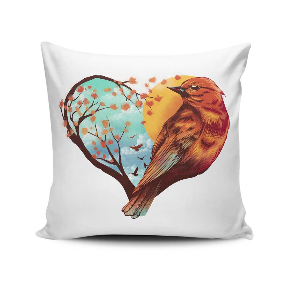 Love Bird - Throw Pillow