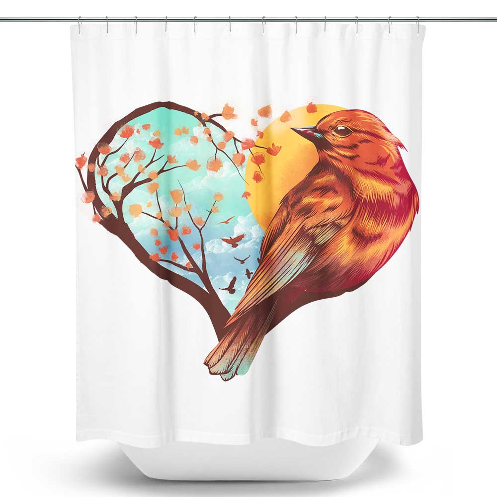 Love Bird - Shower Curtain