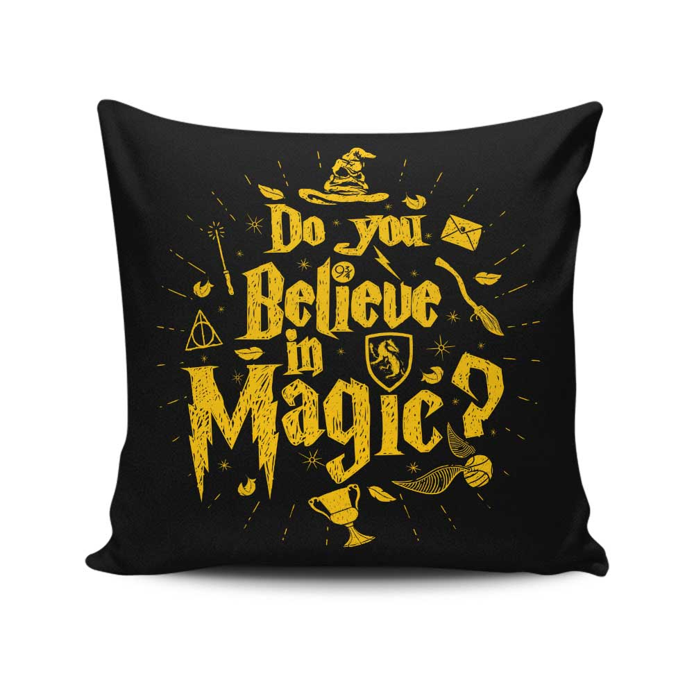 Loyalty and Magic - Throw Pillow