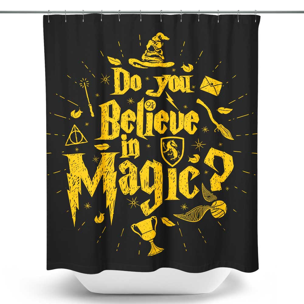Loyalty and Magic - Shower Curtain