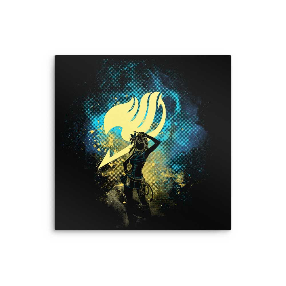 Lucy Art - Metal Print