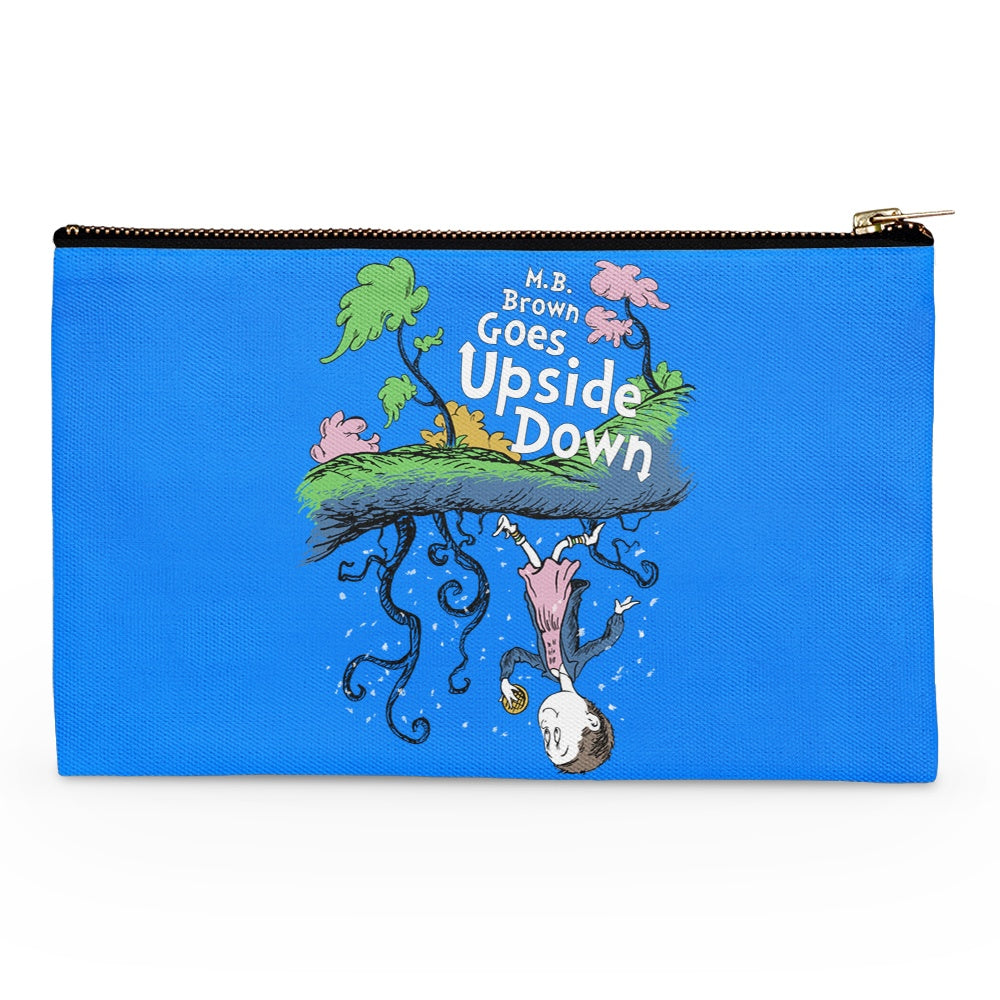 MB Brown Goes Upside Down - Accessory Pouch