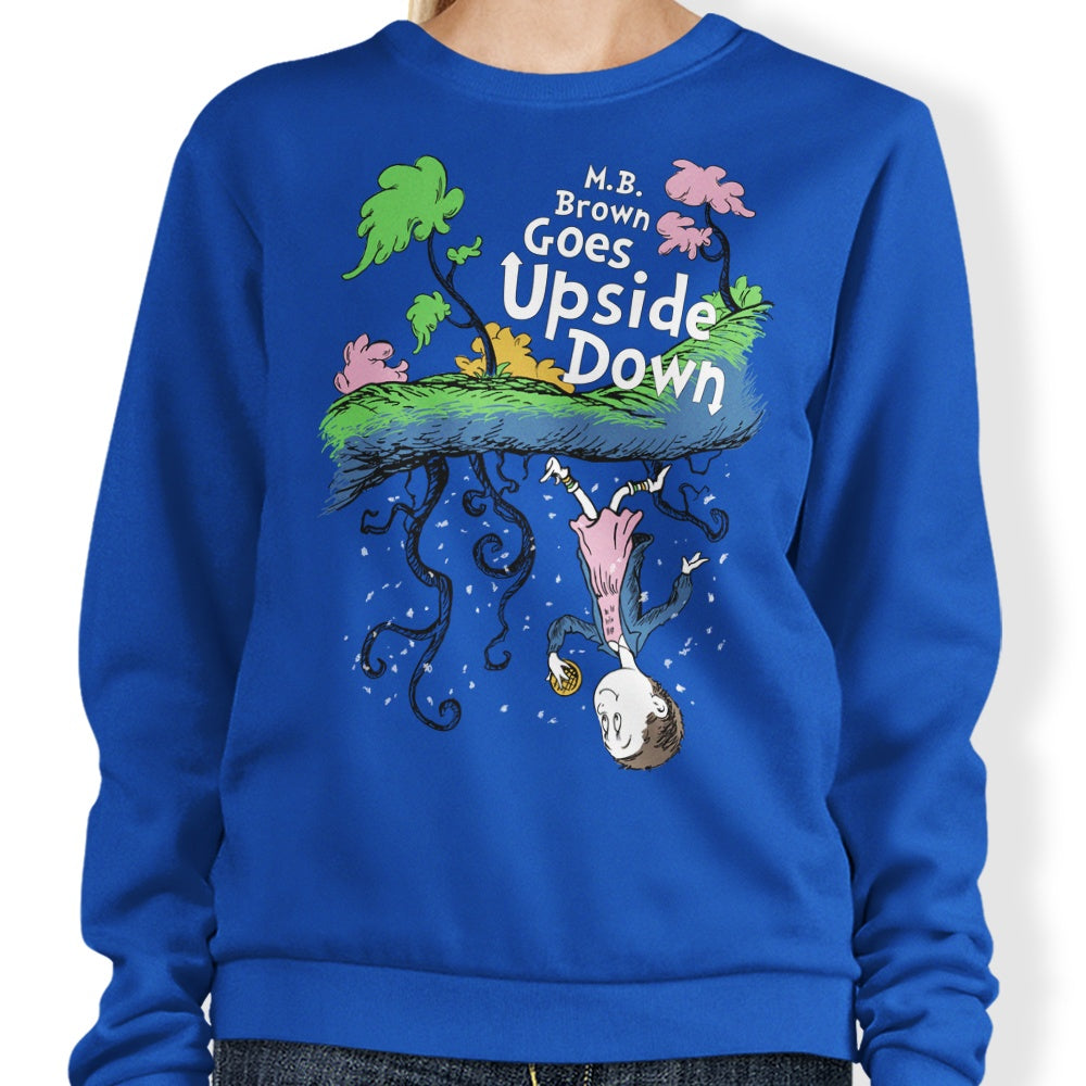 MB Brown Goes Upside Down - Sweatshirt