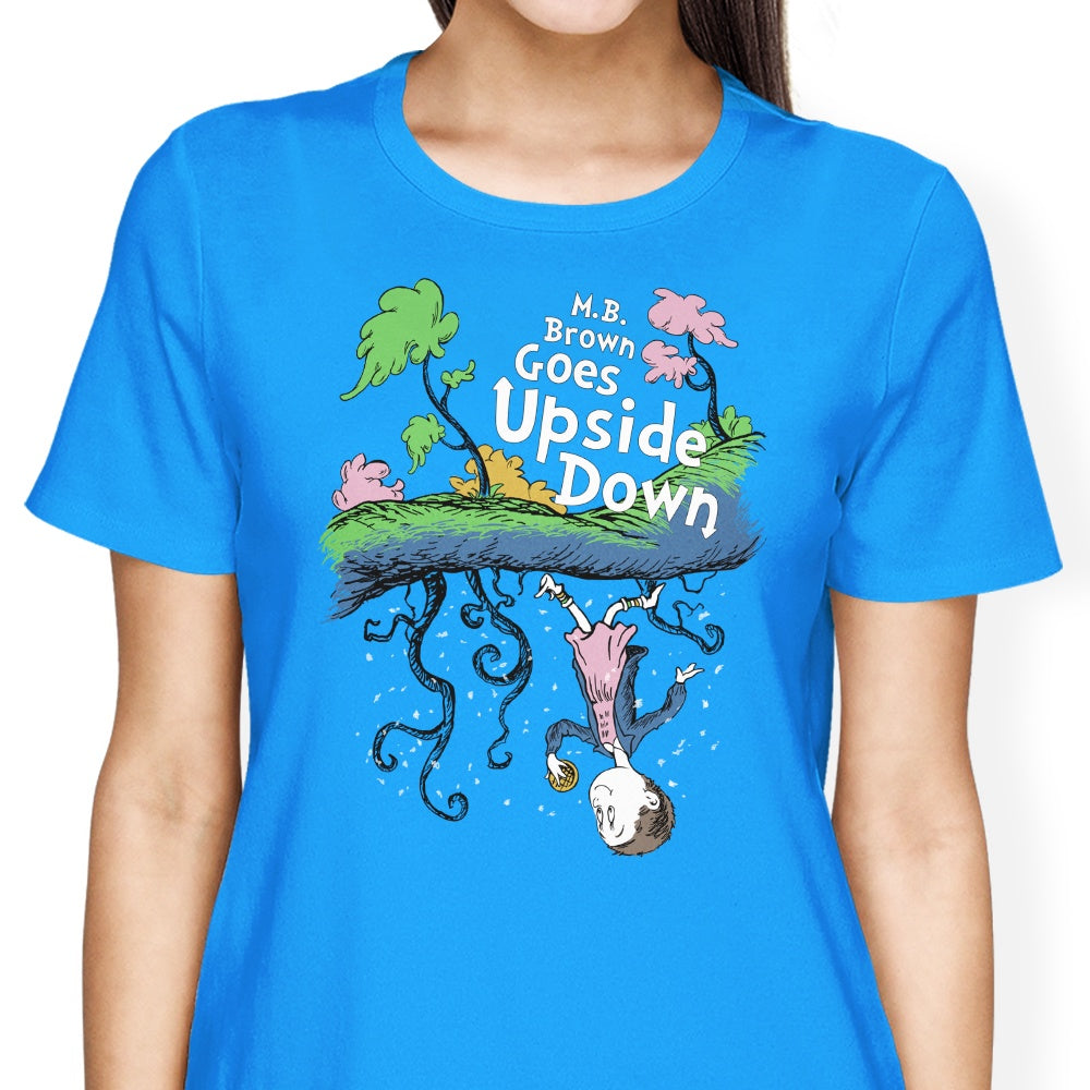 MB Brown Goes Upside Down - Women's Apparel
