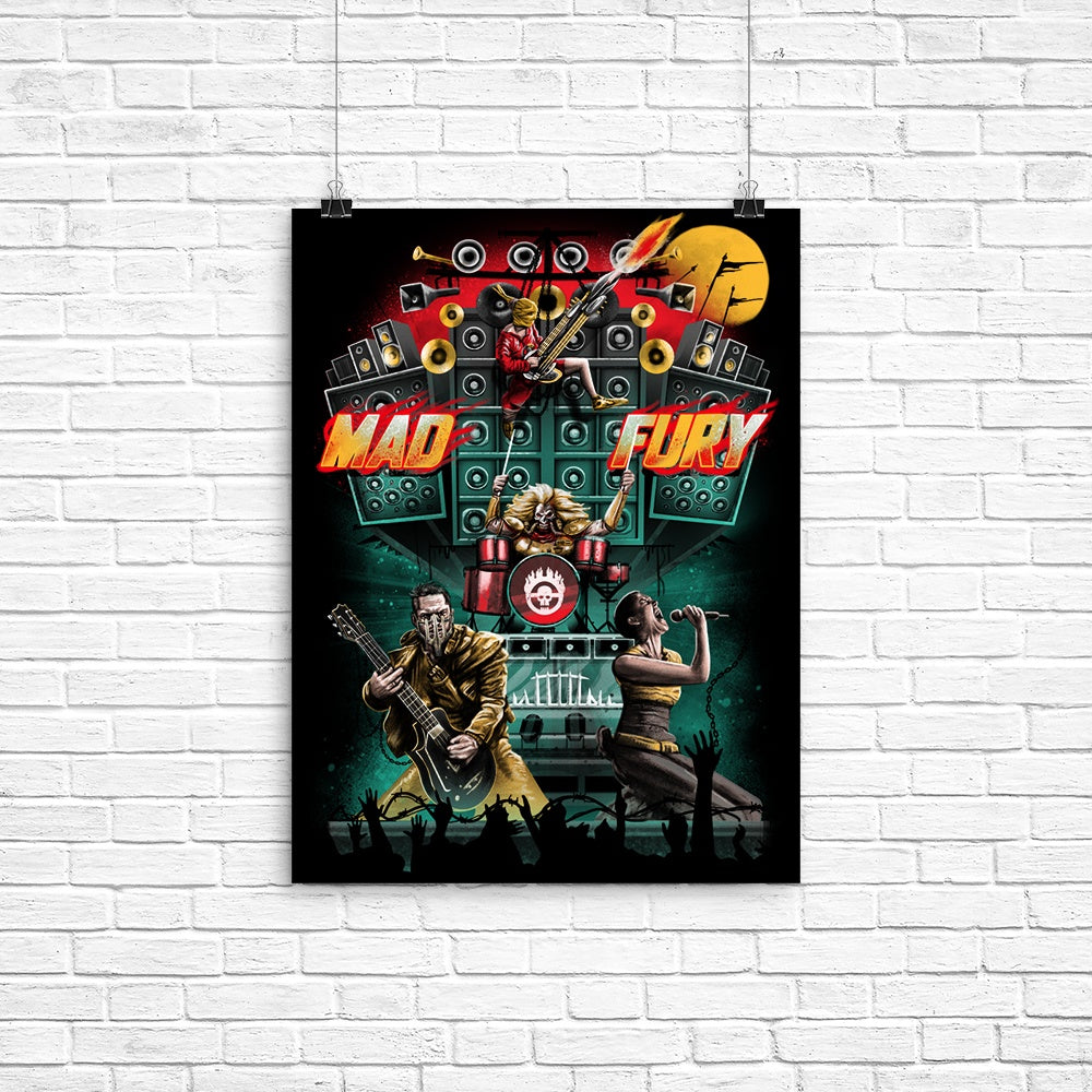 Mad Fury Concert Tour - Poster