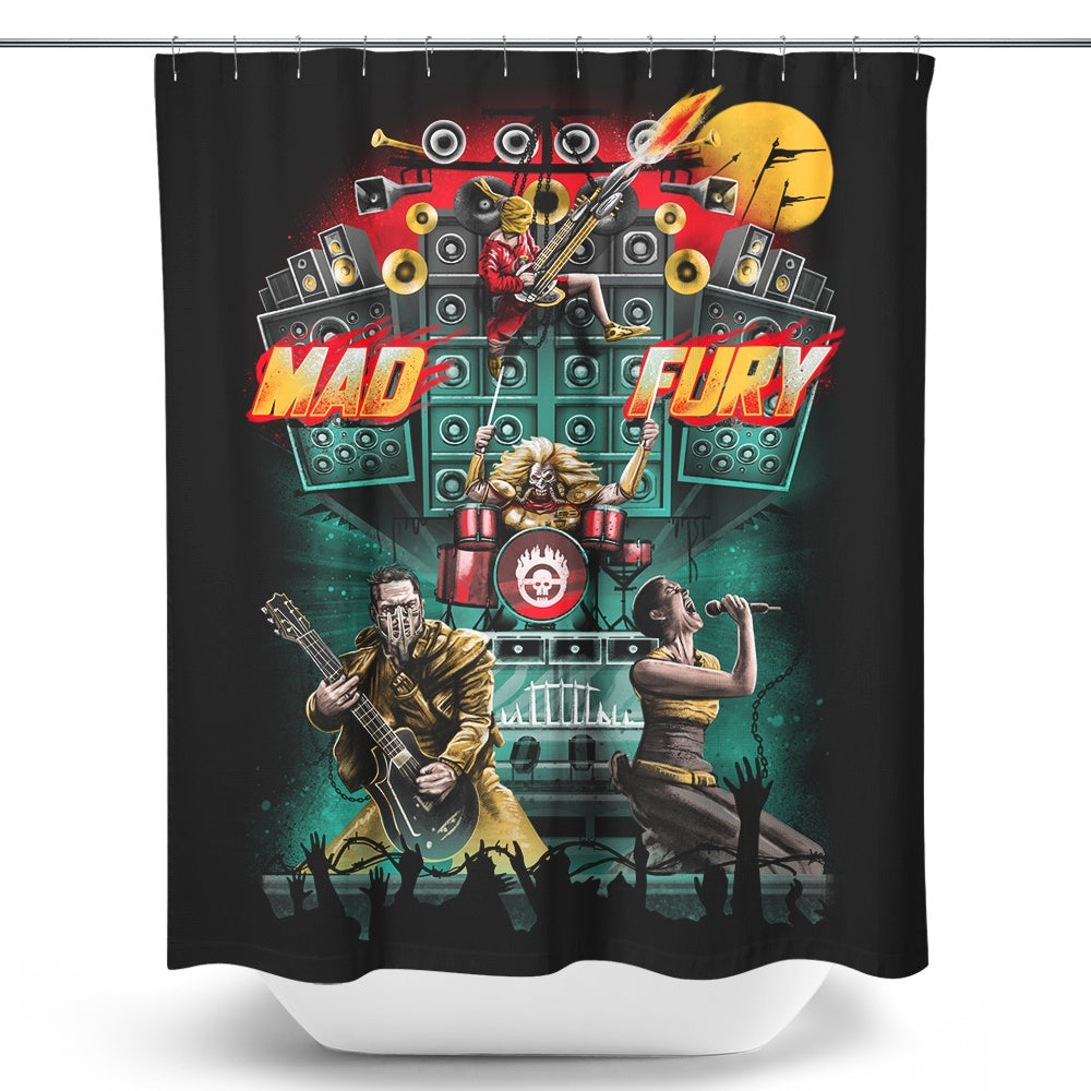 Mad Fury Concert Tour - Shower Curtain