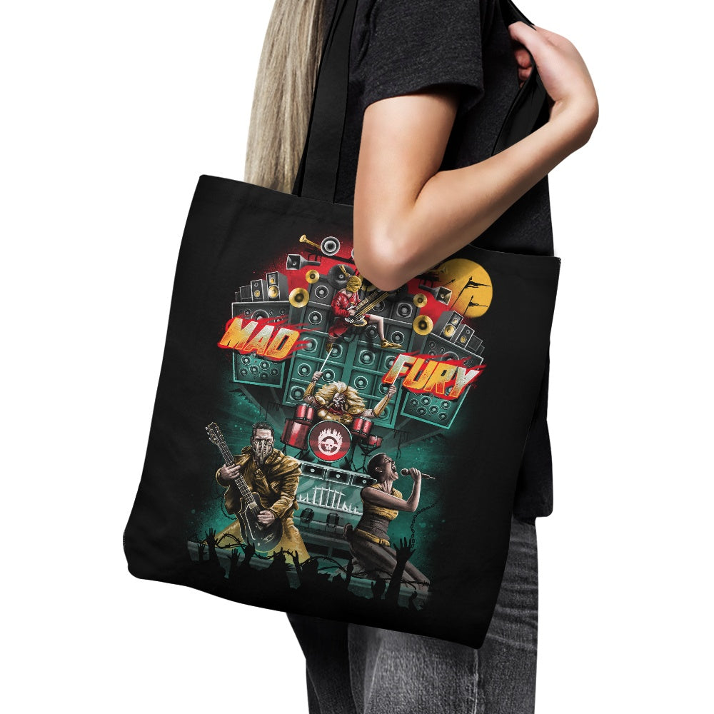 Mad Fury Concert Tour - Tote Bag