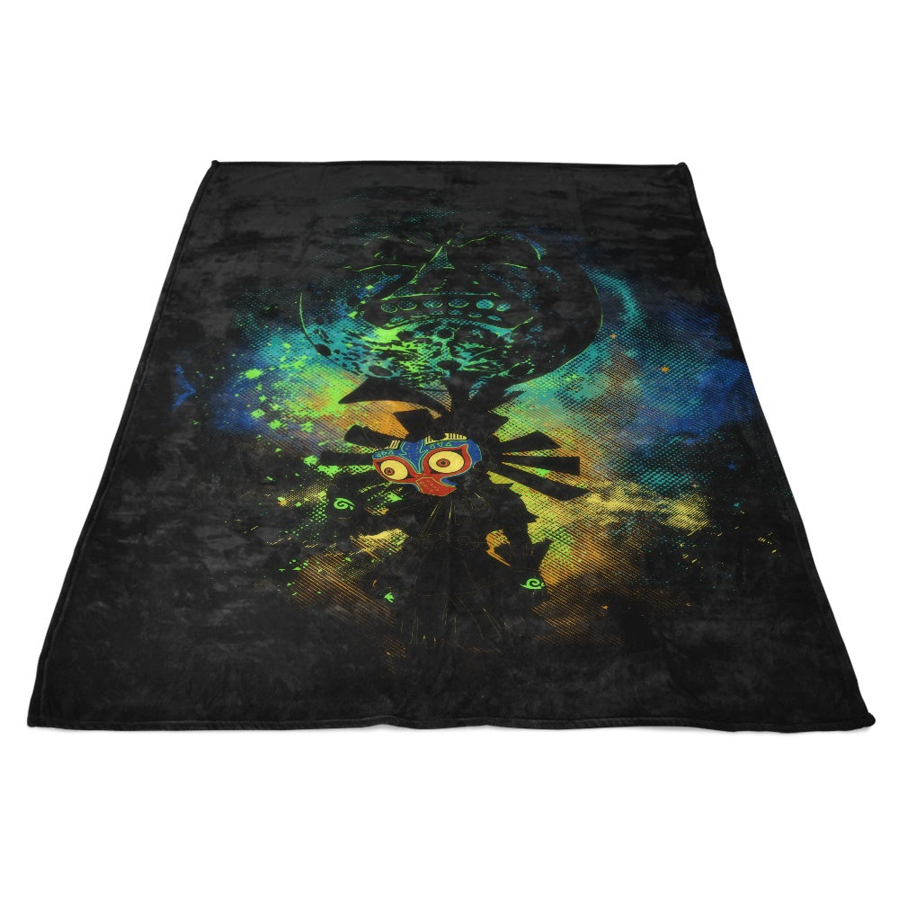 Majora Art - Fleece Blanket
