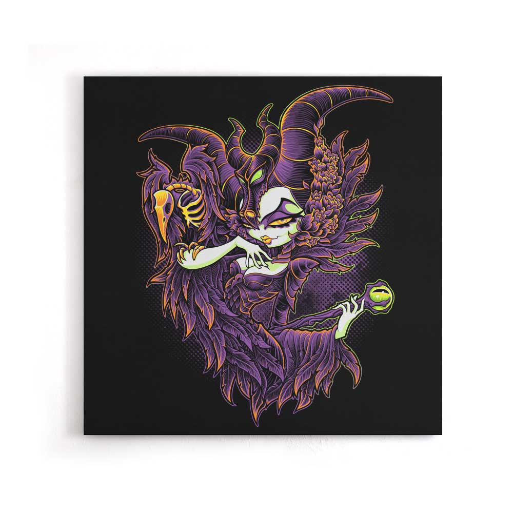 Malevolent Gaze - Canvas Print