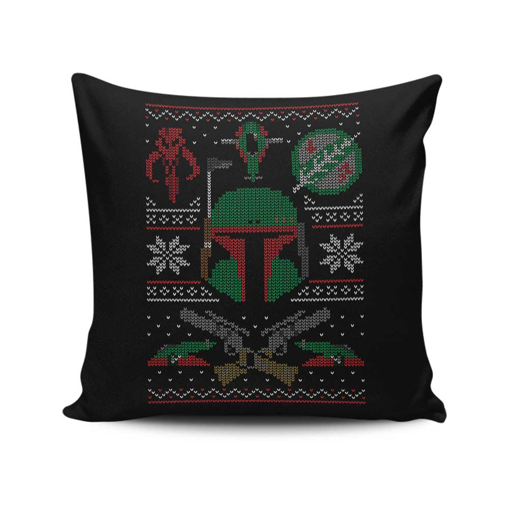 Mandalorian Sweater - Throw Pillow