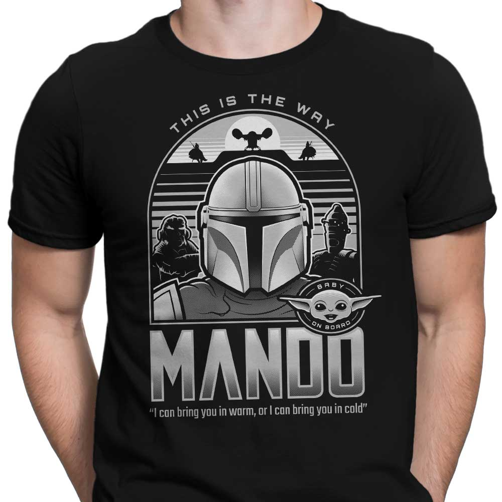 Mando and Friends - Men's Apparel