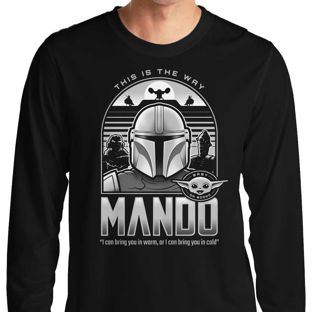 Mando and Friends - Long Sleeve T-Shirt