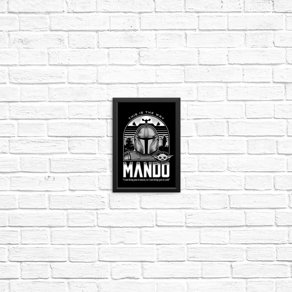 Mando and Friends - Posters & Prints