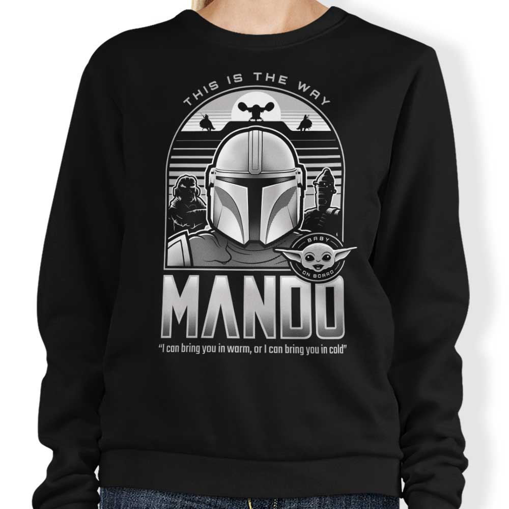 Mando and Friends - Sweatshirt