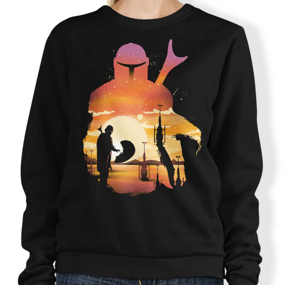 Mando Sunset - Sweatshirt