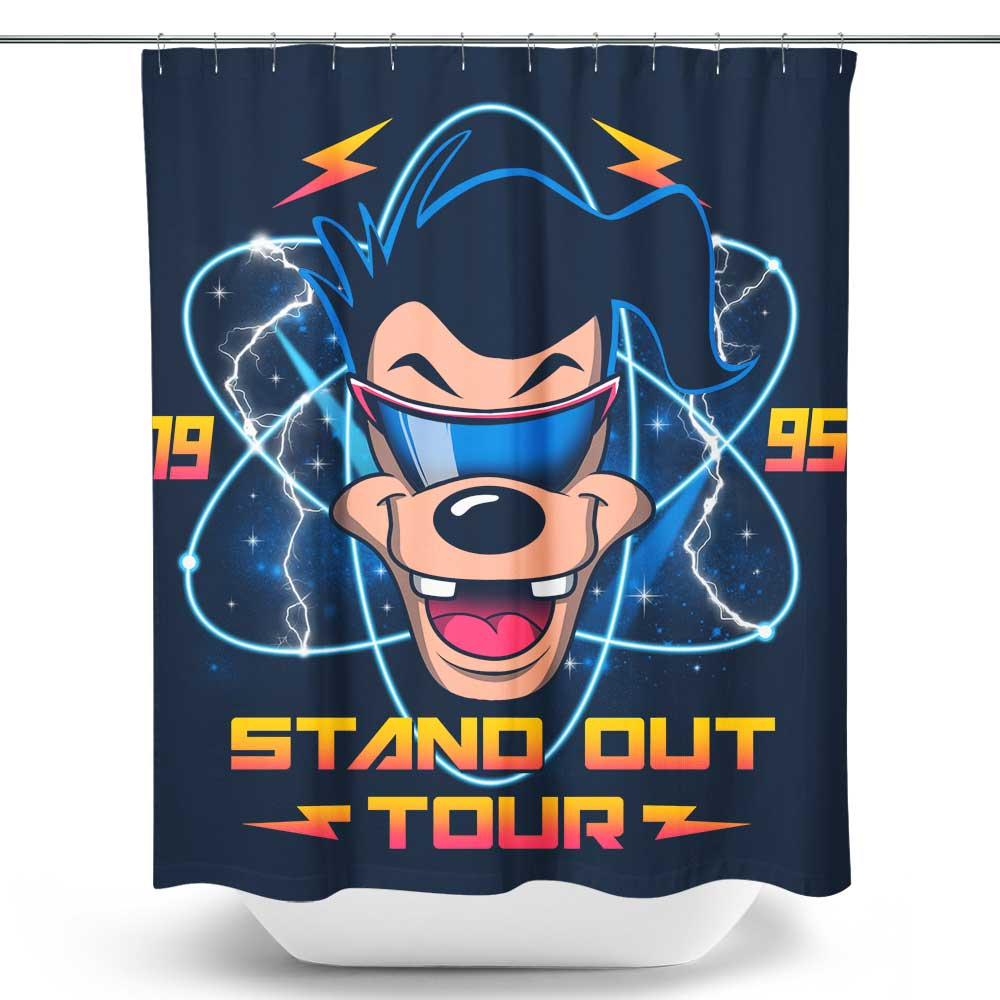 Max's World Tour - Shower Curtain