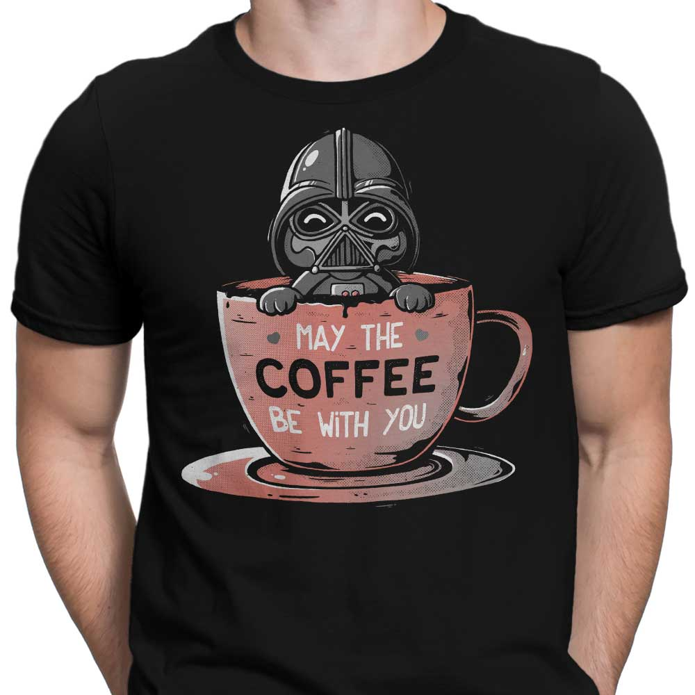 May the Coffee Be With You - Men's Apparel