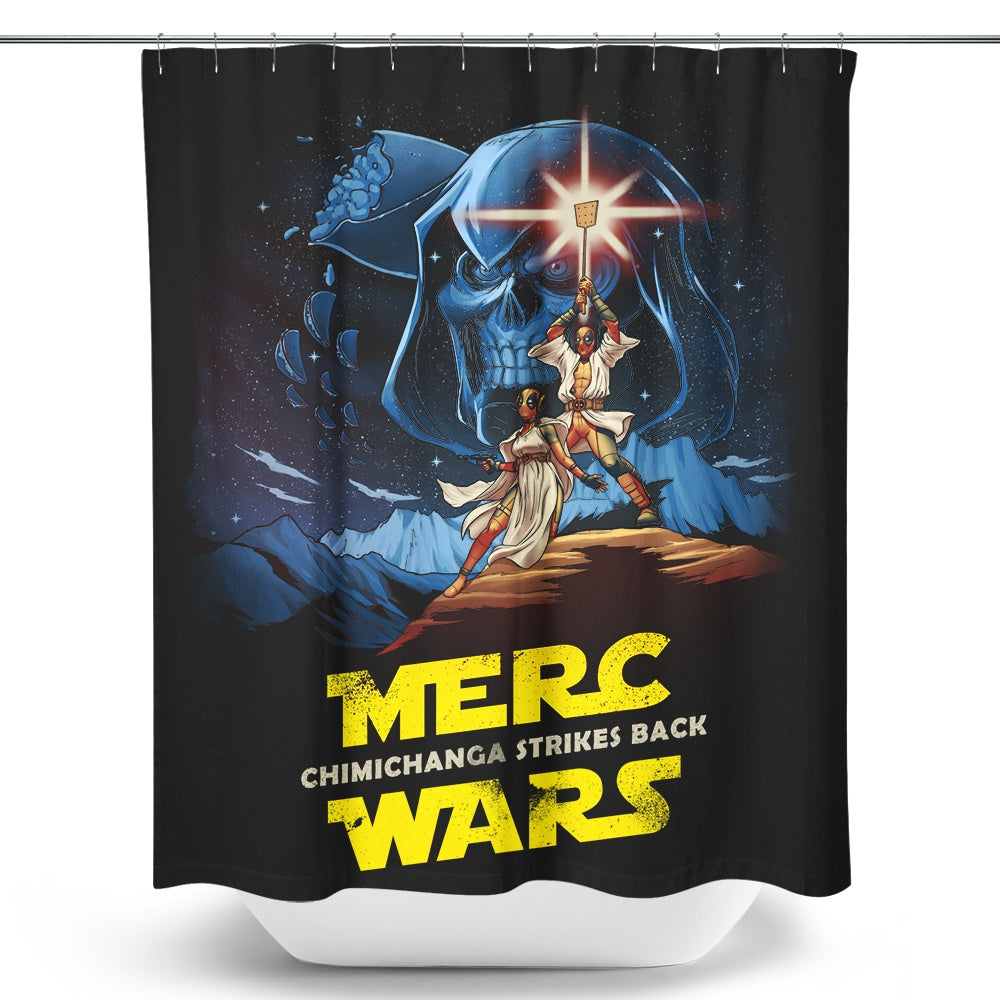 Merc Wars - Shower Curtain
