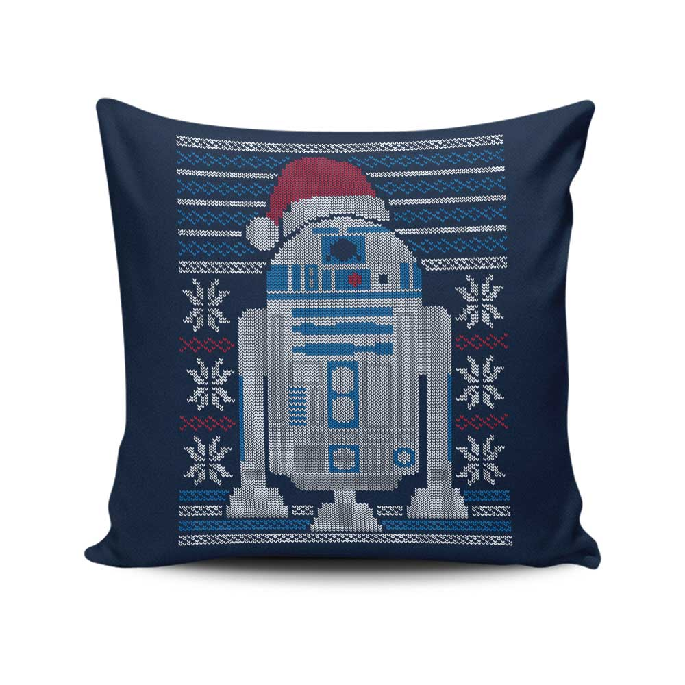 Merry Droidmas - Throw Pillow