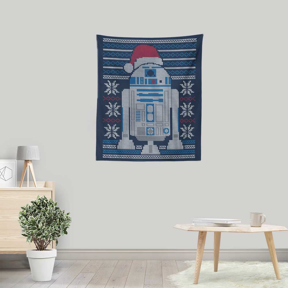 Merry Droidmas - Wall Tapestry